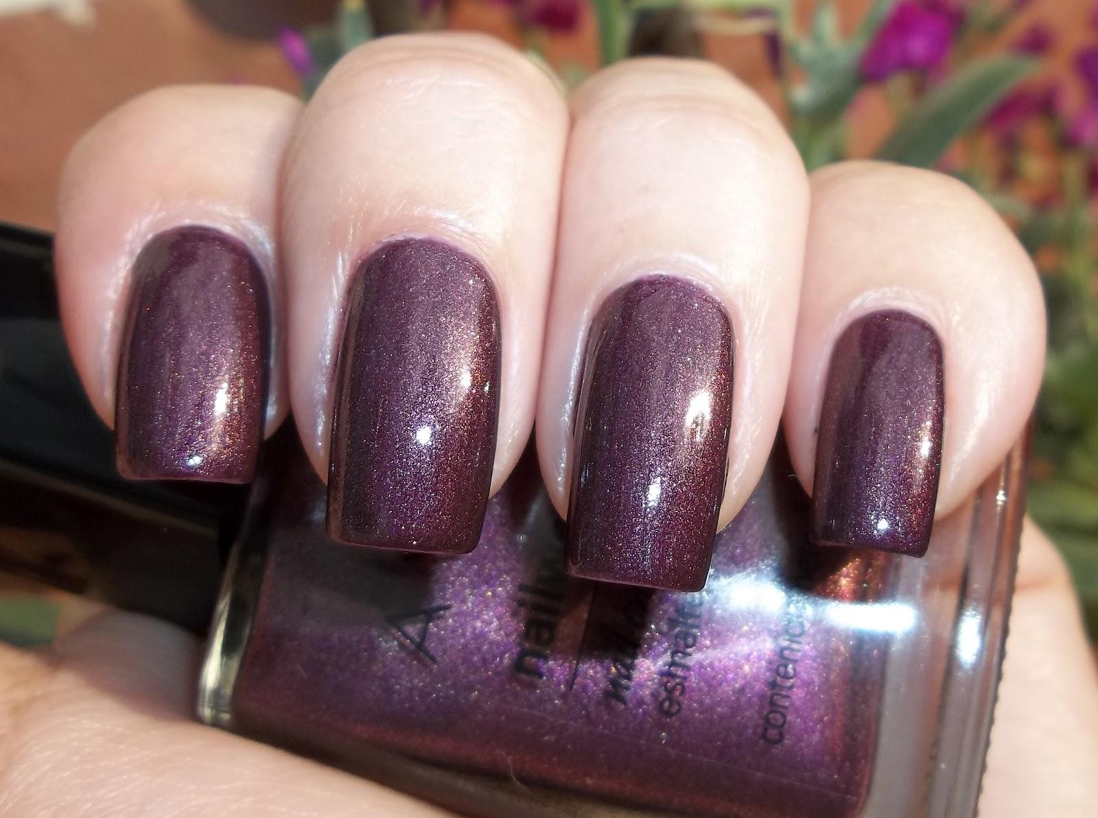 miss phibes.: Avon Nail Wear Pro Night Violet