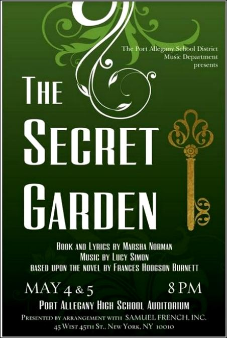 5-4/5 The Secret Garden, PAHS, Port Allegany