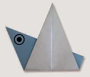 Hướng dẫn cách gấp con chim bằng giấy đơn giản - Xếp hình Origami với Video clip