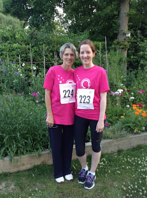 Charity Walk St Catherine's Hospice Midnight Walk June 2015