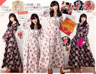 Monica Flowery Maxi Dress