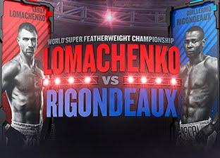 Ver Lomachenko vs Rigo Gratis Online HD