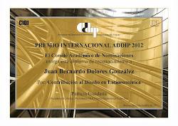 PREMIO INTERNACIONAL ADDIP