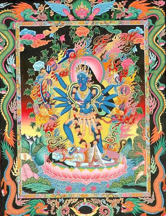 Wielka Bogini MahaKali