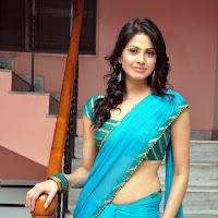 Supriya shailaja in saree