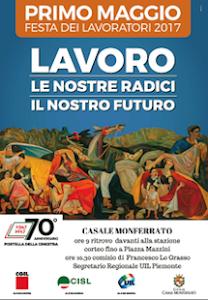 1 maggio 2017 a Casale Monferrato