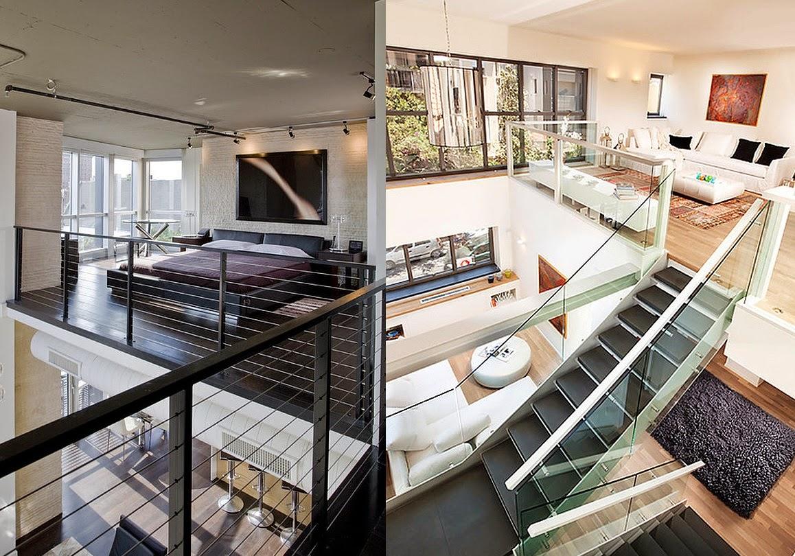 Decoracion lofts casas ideas for Casas de estilo industrial