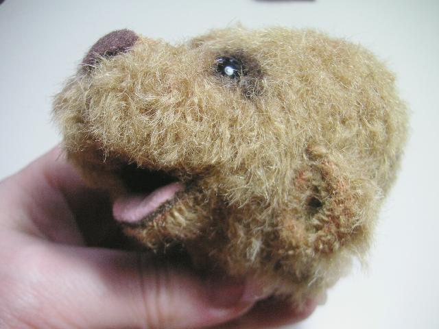 Как сделать нос медведя