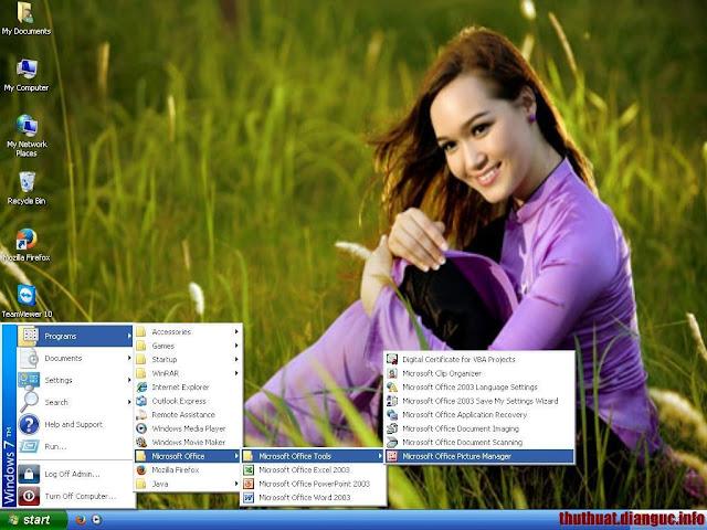 Ghost Windows XP SP3 Đa Cấu Hình, Theme (Win 7/8) Nhanh mượt update 7/2015