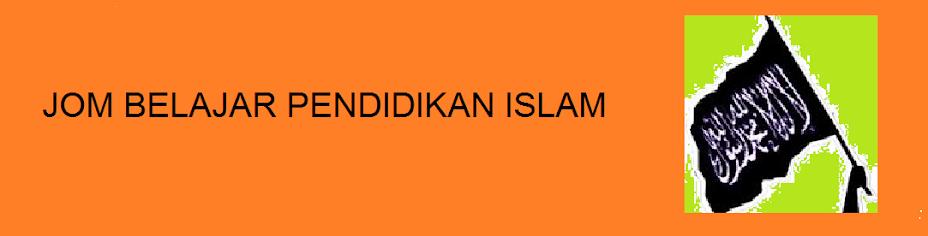 BELAJAR PENDIDIKAN  ISLAM  MENYERONOKKAN