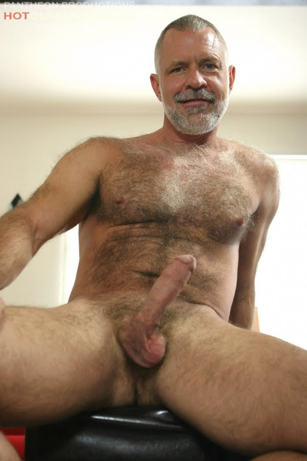 Mature hairy nude men
