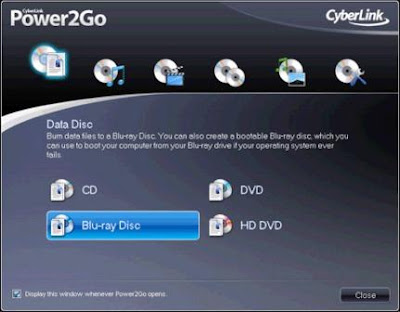 CyberLink Power2Go 8.0.0.1429
