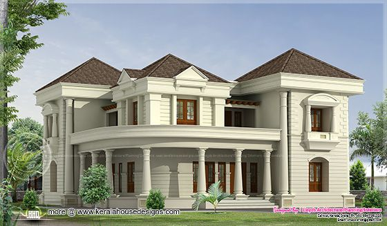 Indian bungalow elevation