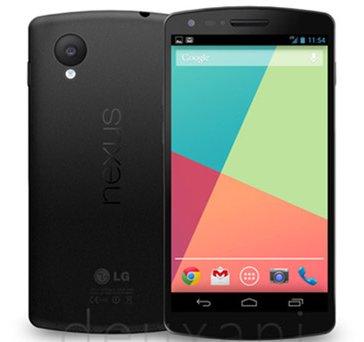 Google verso fine ottobre dovrebbe annunciare il nuovo smartphone android 4.4 KitKat Nexus 5 di LG