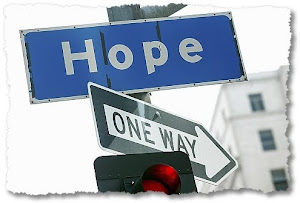 Don't ever lose hope- ever!