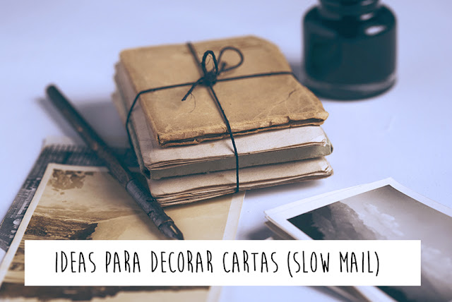 Ideas para decorar sobres con recortes de revistas