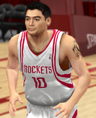 NBA 2K13 Carlos Delfino Cyberface Patch