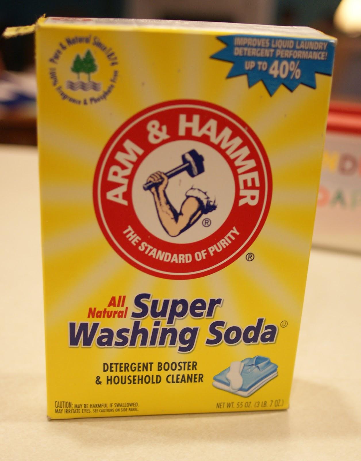 how to make baking soda into washing soda