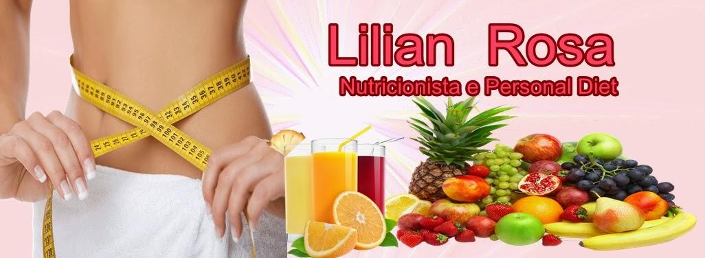Lilian Rosa, Personal Diet,Nutricionista.