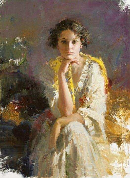 Пино Daeni 1939-2010 | Итальянский художник-импрессионист