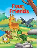 tales from the panchatantra-the four friends and the hunter