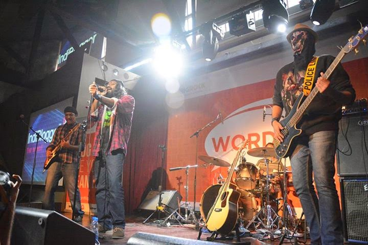 Rocking Performance at WordUp (BigRock Event)