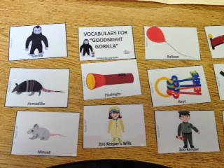 Vocabulary Cards These Were Great To Help Students Use The Describe Pictures In Story You Could Also Print Two Copies Of And