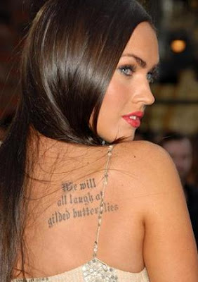 tatuaje de megan fox