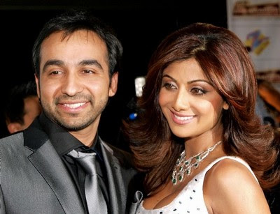 shilpa with husband
