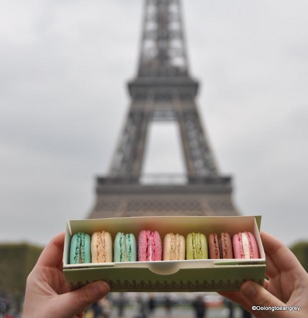 Laduree Macarons, Eiffel Tower, Paris, France