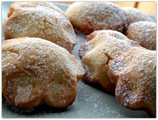biscotti tipici siciliani (senza latte) ripieni di marmellata di mele cotogne