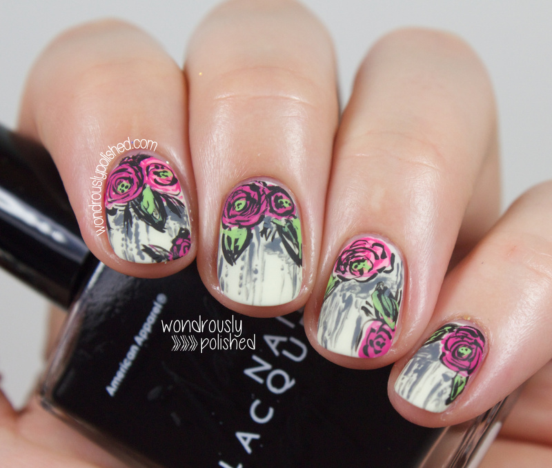 Grunge Nail Art On Pinterest: Wondrously Polished: Guest Post For Popping Nails