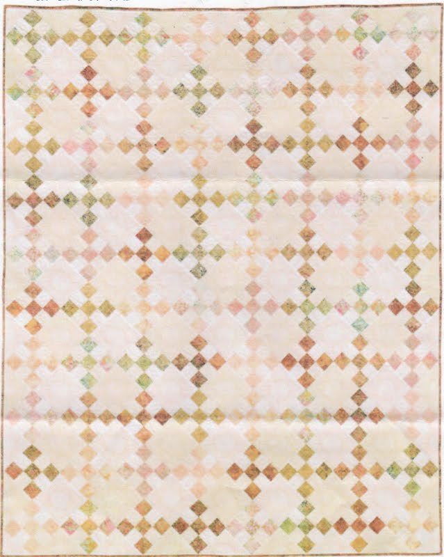 Daybreak Pattern by Karen Montgomery Made with nine-patch