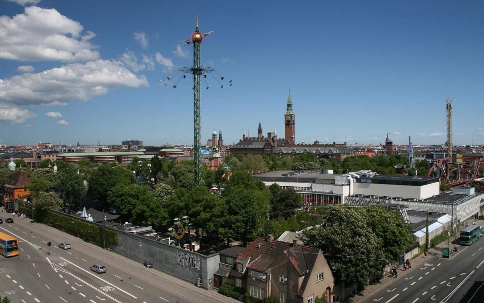 Tivoli Gardens Copenhagen