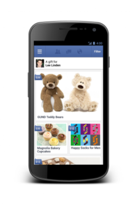 Facebook Launches Gifts