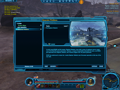 SWTOR - Quest Log