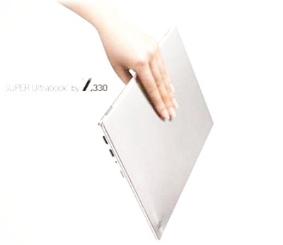 Super Ultrabook Z330 from LG