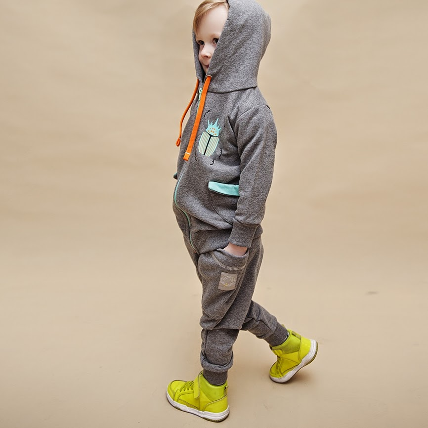 Comfortable and cool streetwear for kids by WataCukrowa from Poland