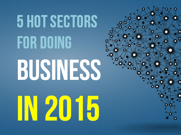 5 HOT SECTORS TO START BUSINESS IN 2015