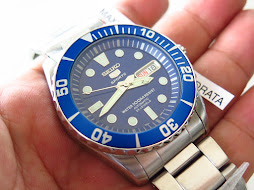 SEIKO 5 SPORTS URCHIN BLUE - AUTOMATIC 7S36 - BRAND NEW WATCH