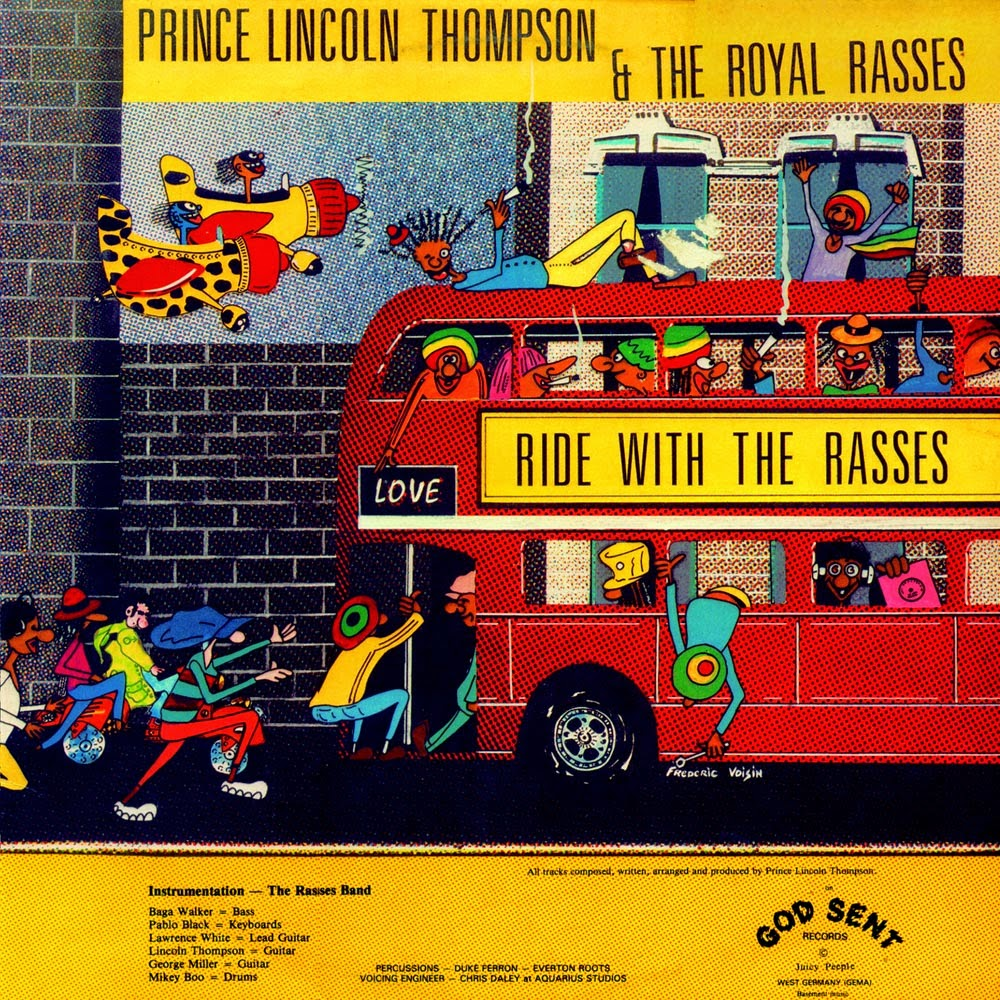 Prince Lincoln Thompson & Royal Rasses, The - Ride With The Rasses