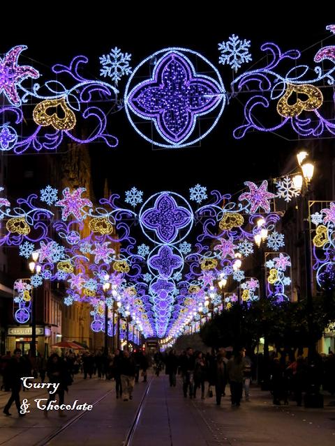 Alumbrado Navidad Sevilla 2013
