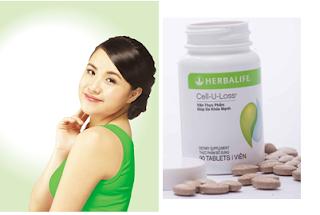 Cell U Loss Herbalife giảm cân đẹp da