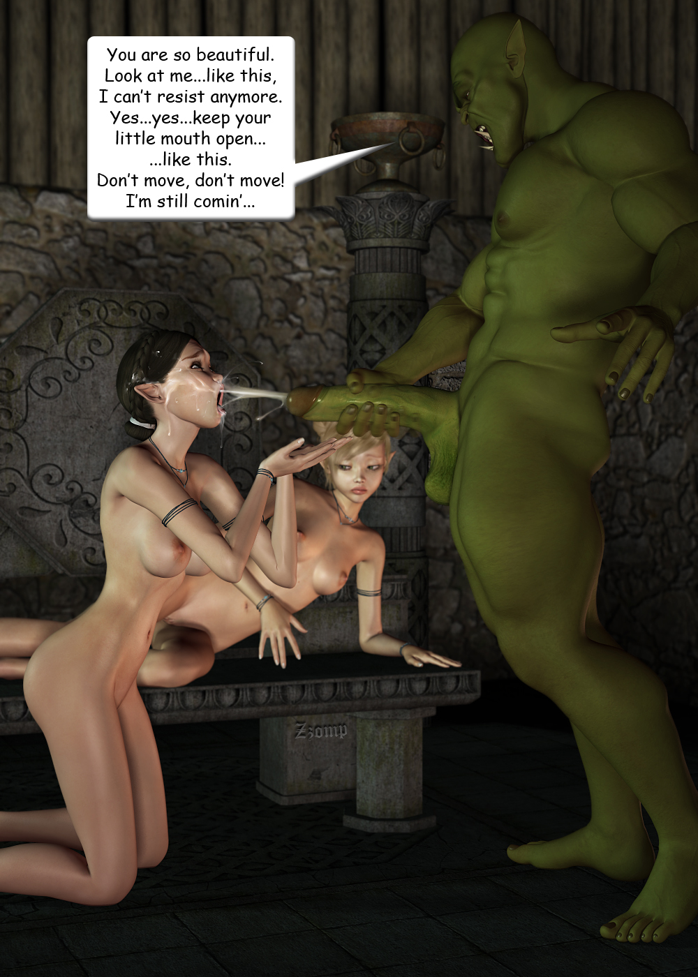 Princess fucked by goblin full hentai young bitches