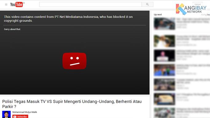 Polisi Tegas Masuk TV vs Supir Mengerti Undang-Undang di Blok dari Youtube