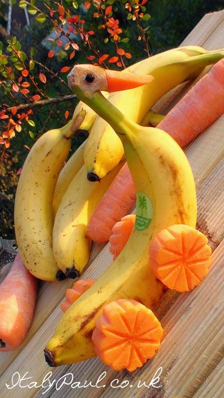 Easy vegetable art