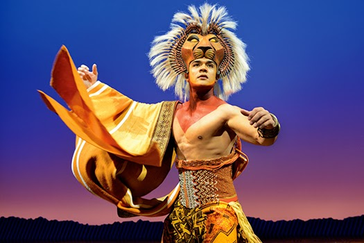 the lion king: nick afoa as simba