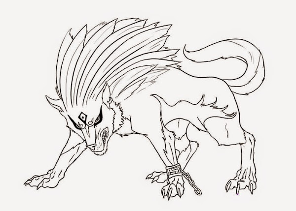 Twilight Princess Wolf Coloring Pages