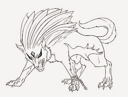 Free Wolf Coloring Sheets