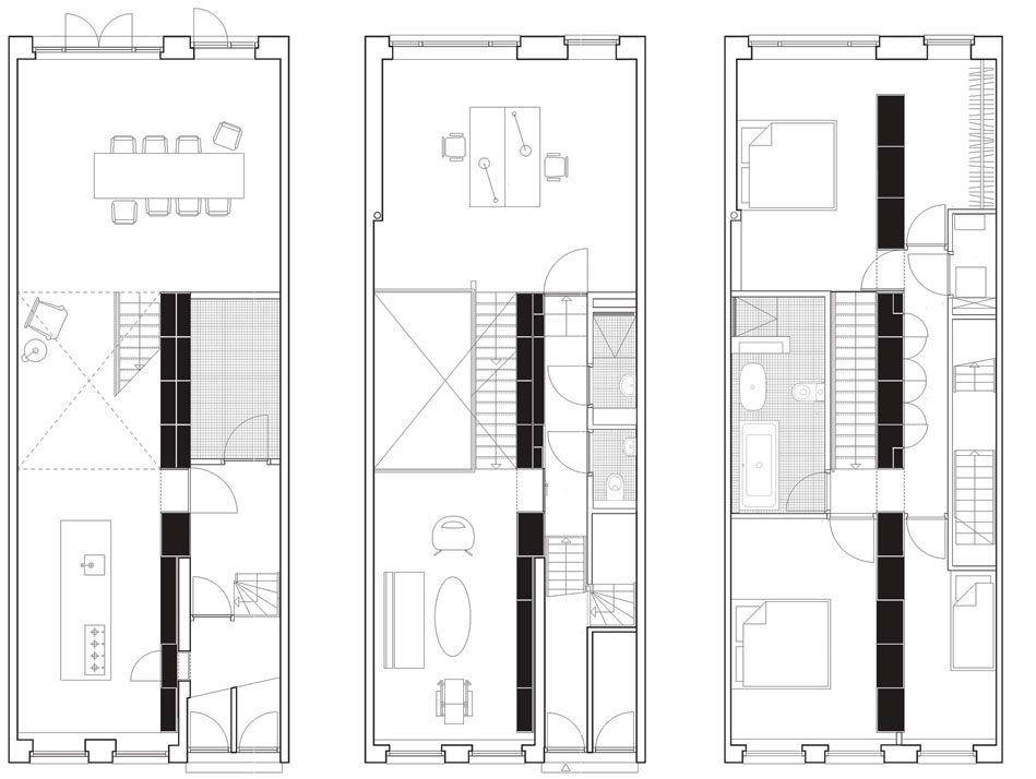 Loft dise o y planos de una moderna casa construye hogar for Diseno de planos